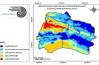 تاریخ کاشت مناسب کلزا در استان خراسان شمالی